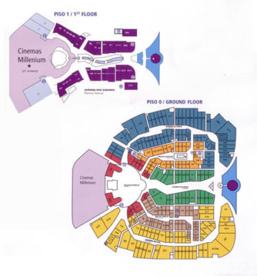 Freeport Lisboa Floor Plan