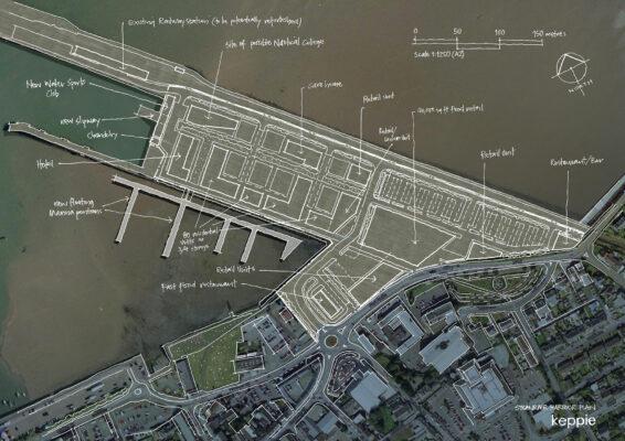 Stranraer Port Sketch Masterplan